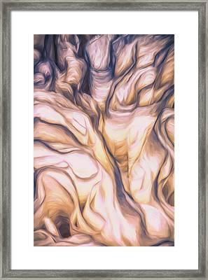 Ruffles Framed Print