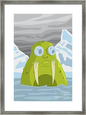 Rufus Framed Print by Kyle Harper