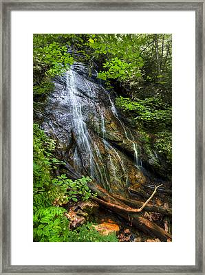 Rufus Morgan Falls Framed Print by Debra and Dave Vanderlaan
