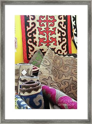 Rug Sale Framed Print by Alycia Christine