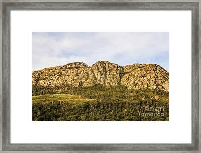 Rugged Australian Mountains Framed Print by Jorgo Photography - Wall Art Gallery