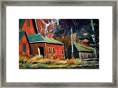 Rugged Hoosiers Matted Framed Print by Charlie Spear