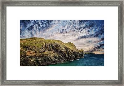 Rugged Landscape Framed Print