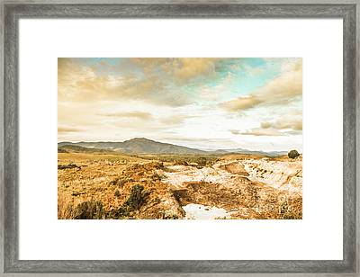Rugged Natural World Framed Print by Jorgo Photography - Wall Art Gallery