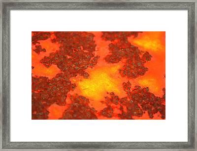 Rugged Terrain Framed Print by Susan Moore