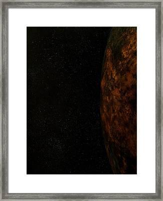 Rugged World Framed Print