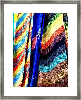 Rugs For Sale By Darian Day Framed Print by Mexicolors Art Photography
