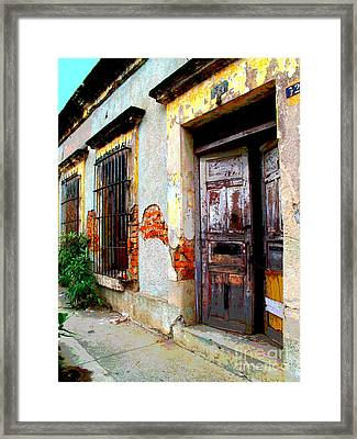 Ruin By Darian Day Framed Print