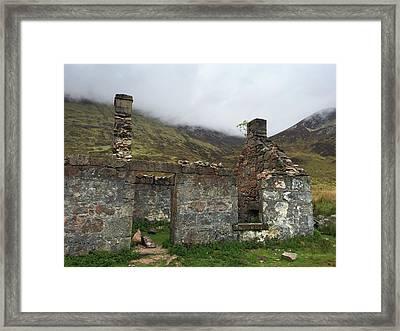 Ruin In Scotland Framed Print