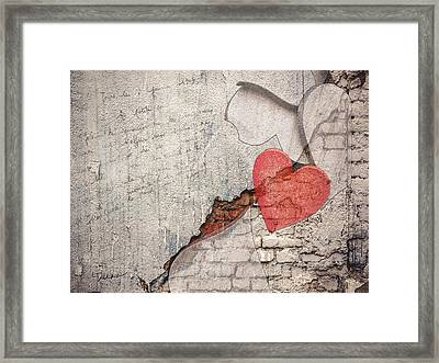 Ruin Is A Gift Framed Print by Linda Dunn