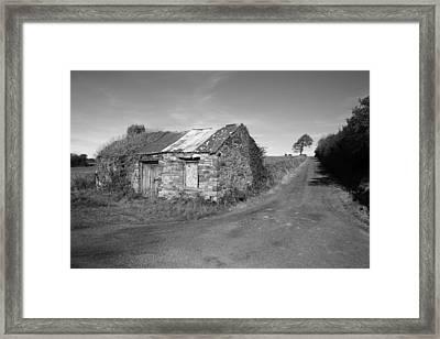 Ruined Irish Cottage Framed Print