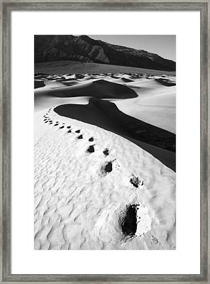 Ruined Framed Print by Mike Irwin