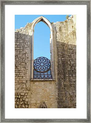 Ruined Framed Print