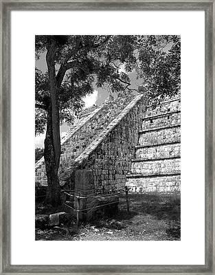 Ruins At Chichen Itza 1 Framed Print