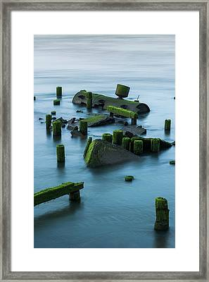 Ruins Of The Day Framed Print