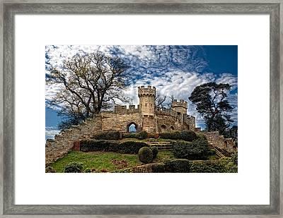 Ruins Of Warwick Framed Print by Laura George