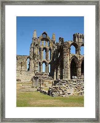 Ruins Of Whitby Abbey Framed Print