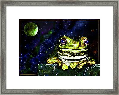 Ruler Of The Cosmos  Framed Print