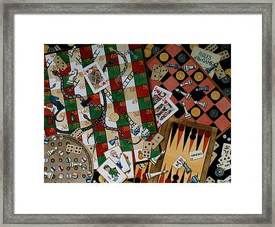 Rules Of The Game Framed Print by Victoria Heryet