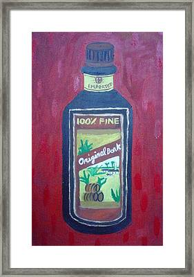 Rum Framed Print by Patrice Tullai