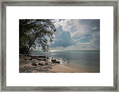 Rum Point Framed Print