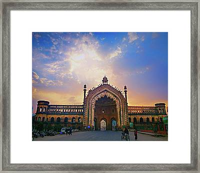 Rumi Gate Framed Print