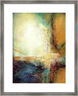 Rumi - Light Framed Print by Jane Dill