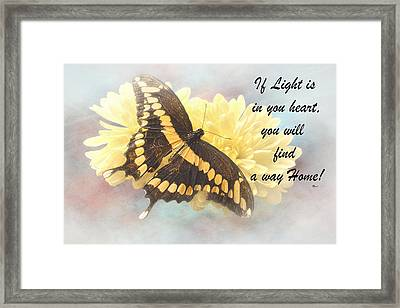 Rumi Quote-7 Framed Print