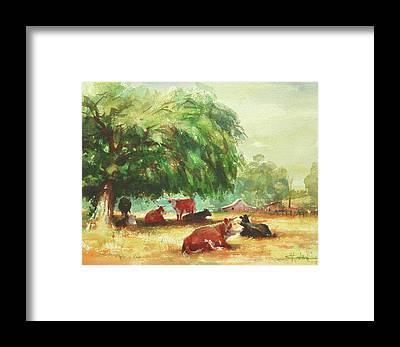 Farmsteads Framed Prints