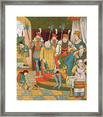 Rumpelstiltskin Framed Print by George R Halkett