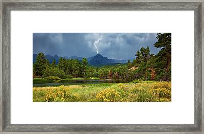 Run For Cover Framed Print