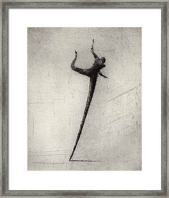 Run II Framed Print by Valdas Misevicius