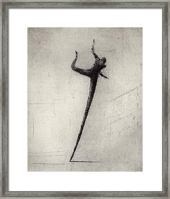 Run II Framed Print