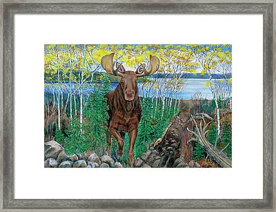RUN Framed Print