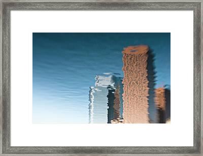 Run L.a. Run Framed Print