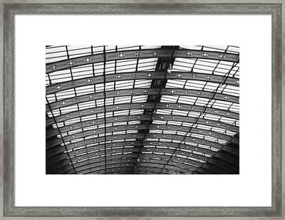 Running Above The Rails Framed Print by Christi Kraft