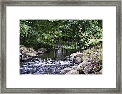 Running Home Framed Print