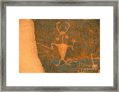 Running Man Framed Print by David Lee Thompson