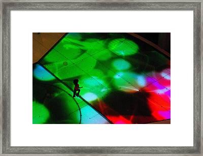Running On Colours Framed Print by Iain MacVinish