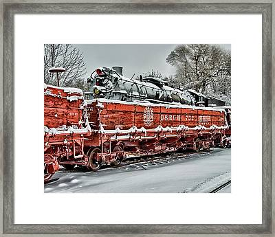 Running Out Of Steam Framed Print
