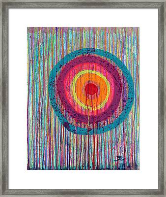 Running Target Framed Print by Tommy Reynolds