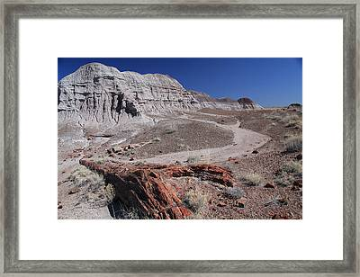 Runoff Obstacle Framed Print by Gary Kaylor