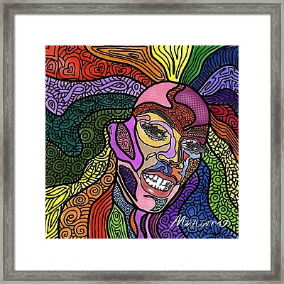 Rupaul A Drag Framed Print