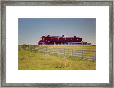 Framed Print featuring the photograph Rural Alabama by Donna Kennedy