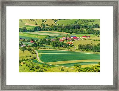 Rural Black Forest Framed Print
