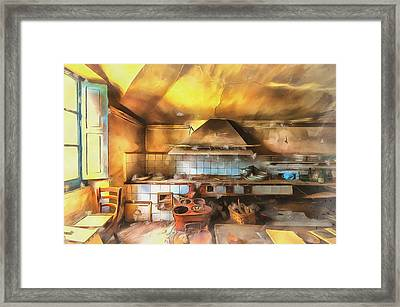 Rural Culinary Atmosphere Nr 2 - Atmosfera Culinaria Rurale IIi Paint Framed Print