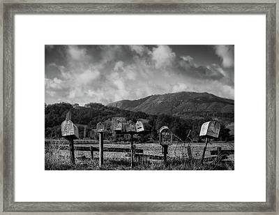 Rural Delivery Framed Print by Joseph Smith