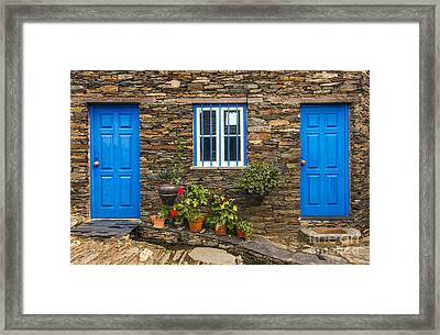 Rural House Detail Framed Print by Carlos Caetano