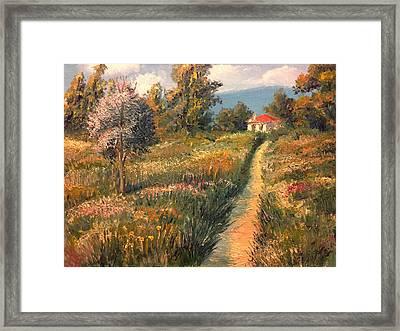 Rural Idyll Framed Print