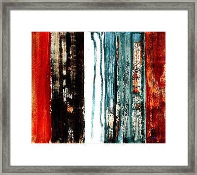 Rural Landscape 5 Framed Print